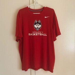 Uconn Basketball Dri-Fit Shirt - NEVER WORN